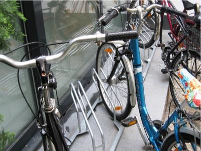 fahrradständer schräg wand